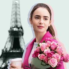 netflix,エミリー、パリへ行く,キャスト,