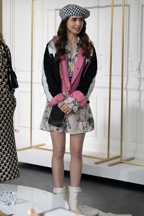 best fashion moments from emily in paris, netflix's new series, starring lily collins