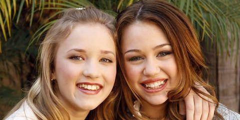 "Stars of Disney Channel's ""Hannah Montana"" Meet the Press"