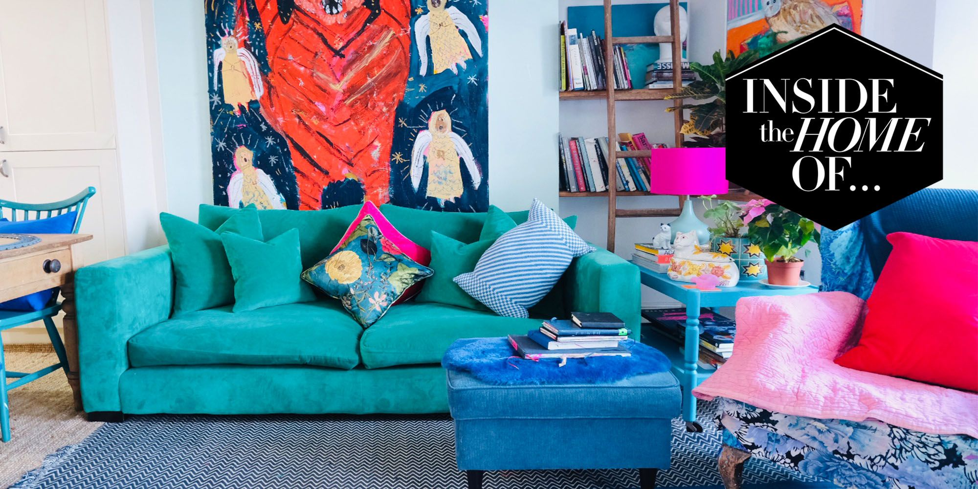 Inside the home of... artist Emily Powell