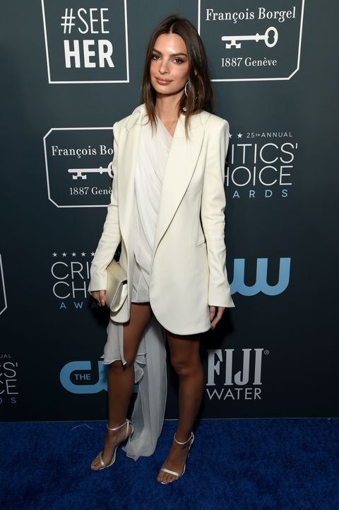 Champagne Collet at The 25th Annual Critics' Choice Awards エミリー・ラタコウスキー