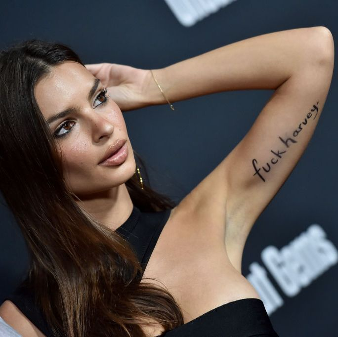 Emily Ratajkowski Had a Message for Harvey Weinstein at the Uncut Gems Premiere