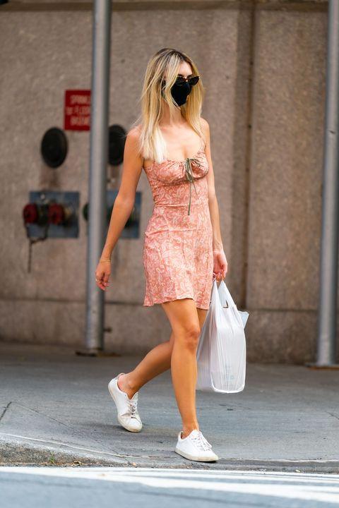 celebrity sightings in new york city   june 25, 2020