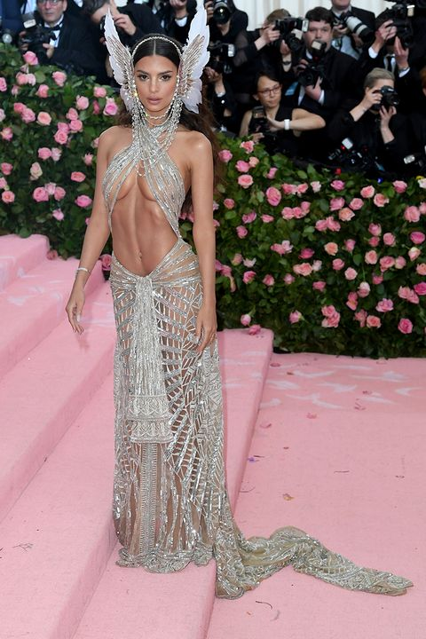 best celebrity naked dresses from the met gala red carpet