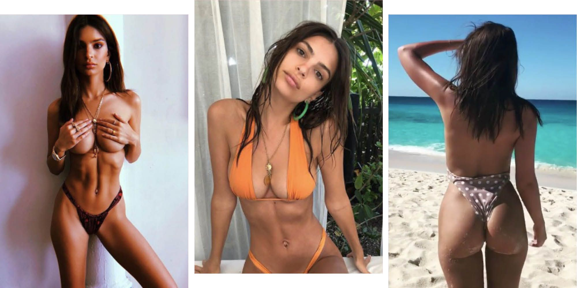 100 of Emily Ratajkowski's most naked Instagrams