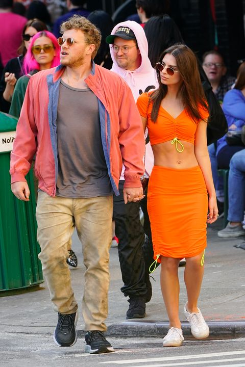 celebrity sightings in new york city   april 06, 2019