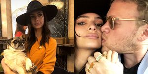 Emily Ratajkowski wedding married