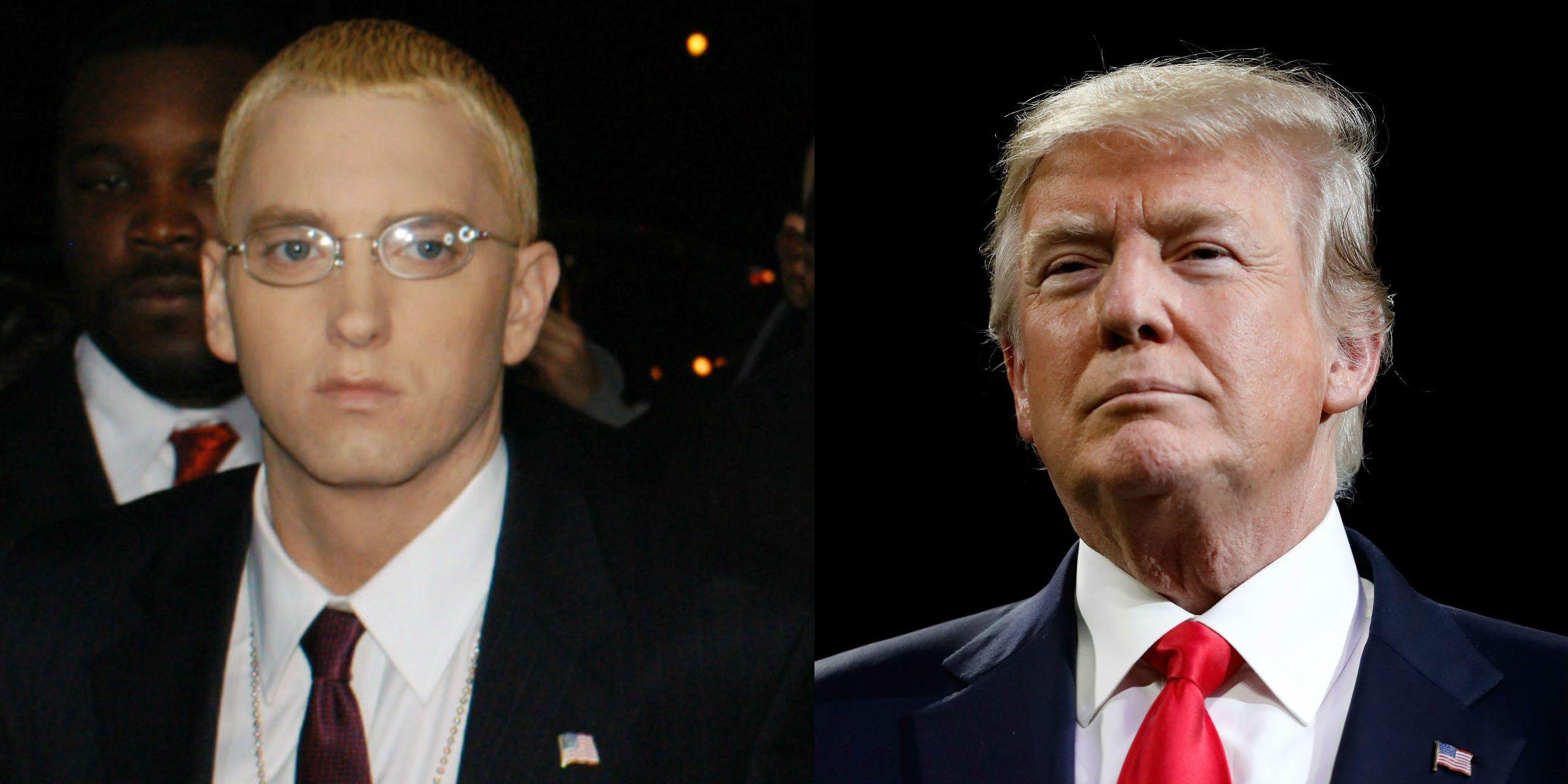Eminem and Donald Trump
