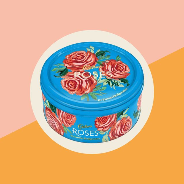 emma bridgewater x cadbury's roses tin