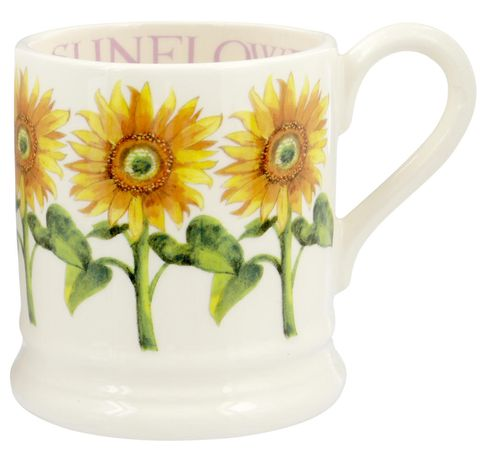 Sunflower 1/2 Pint Mug, Emma Bridgewater