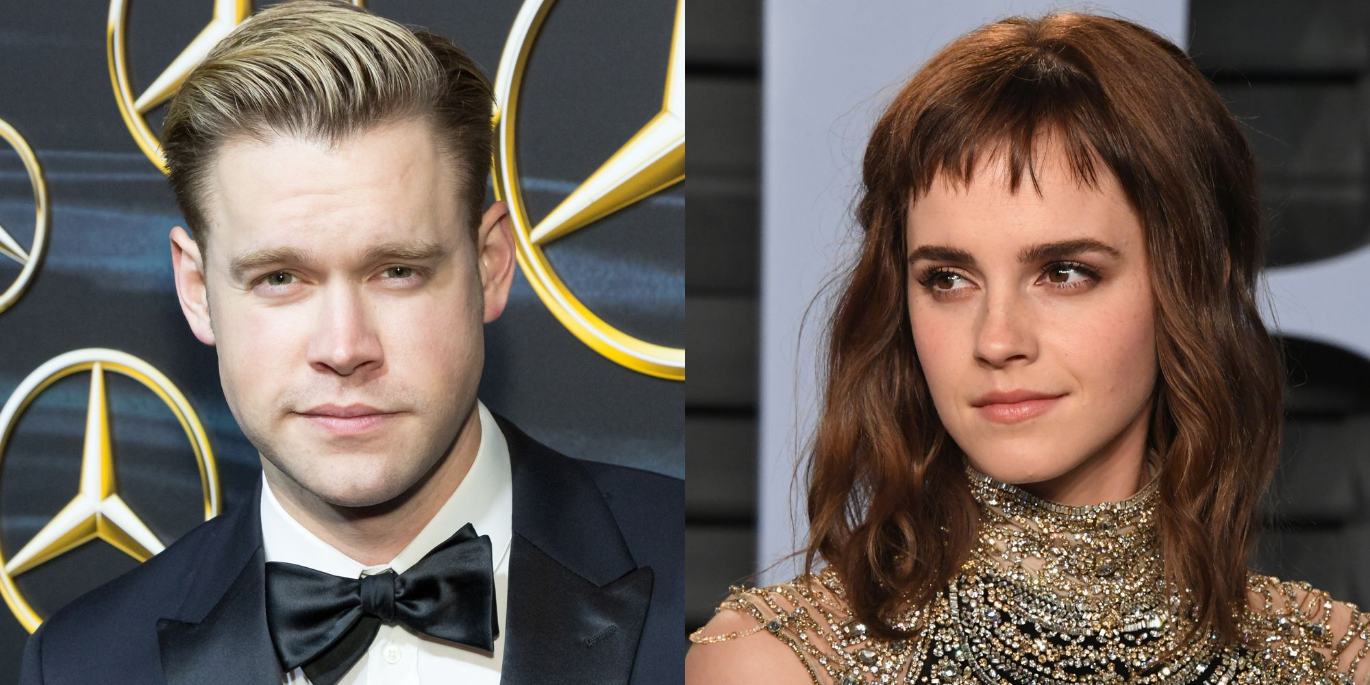 Chord Overstreet and Emma Watson