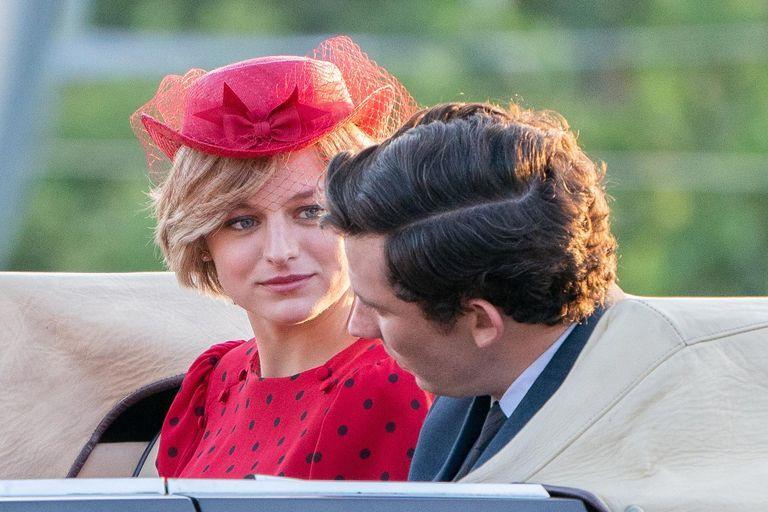 "The Crown: Emma Corrin admits ""pressure"" over Princess Diana role"