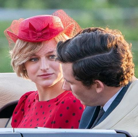 "The Crown: Emma Corrin admits ""pressure"" over Princess ..."