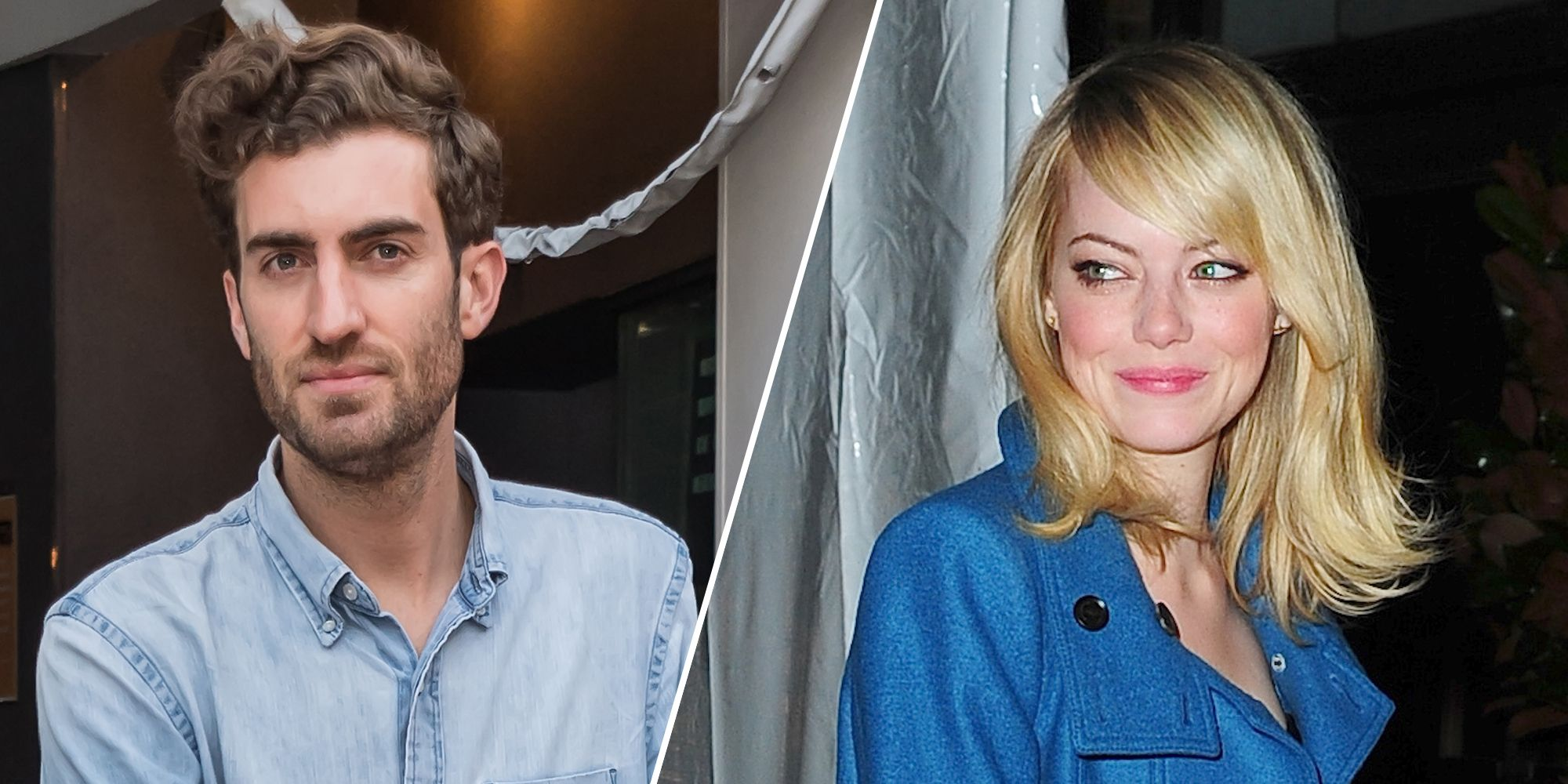 Emma Stone and Dave McCary