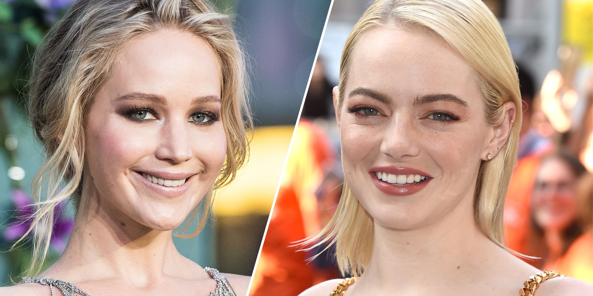 Jennifer Lawrence and Emma Stone