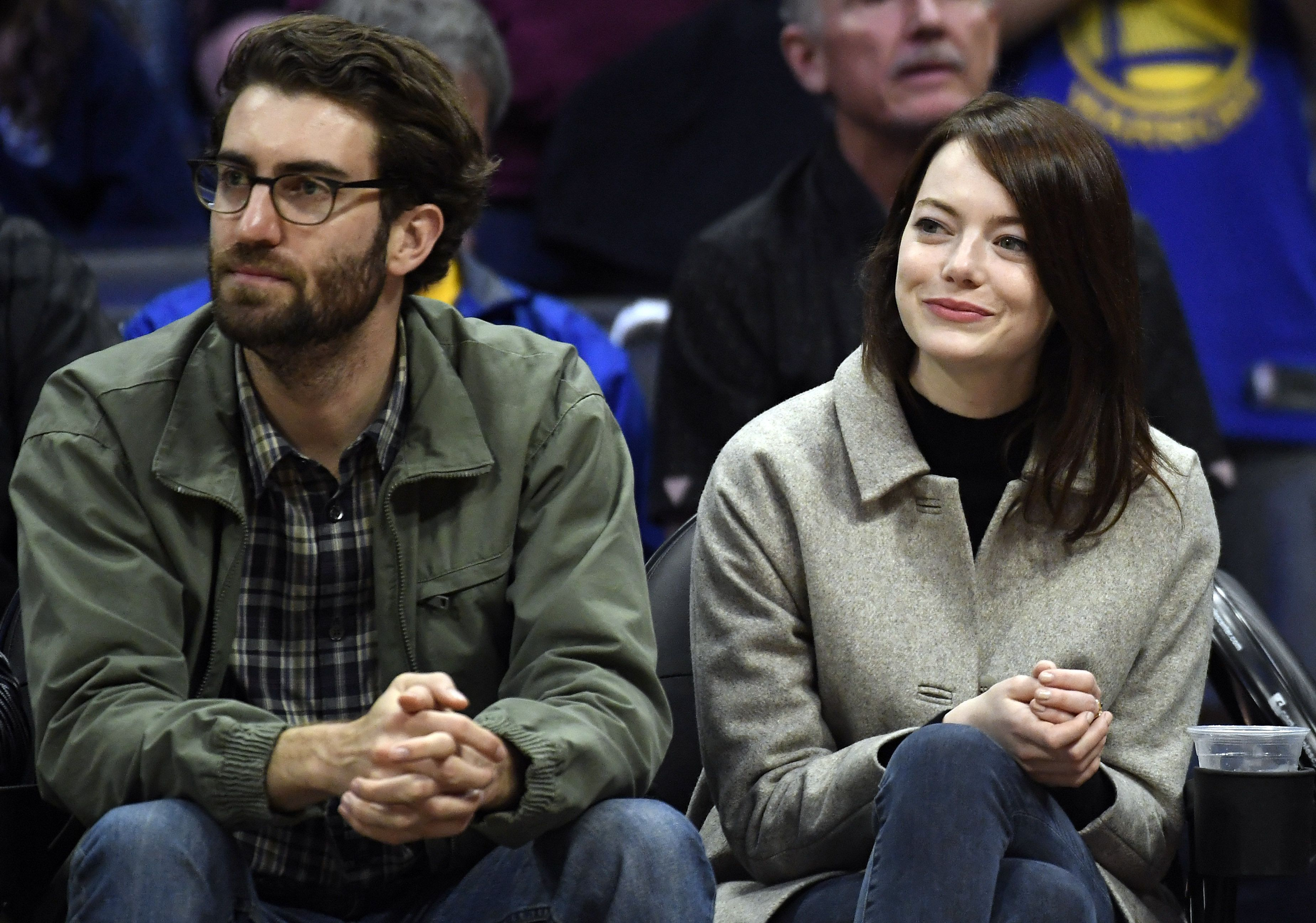 Emma Stone's gorgeous engagement ring has a pearl instead of a diamond in the centre
