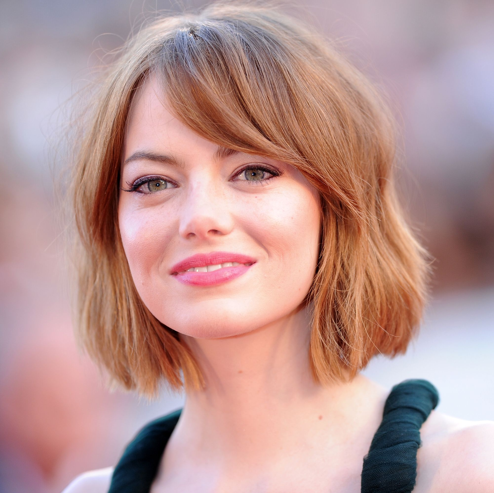Emma Stone Just Dyed Her Hair Brown and the Pics Are Whoa