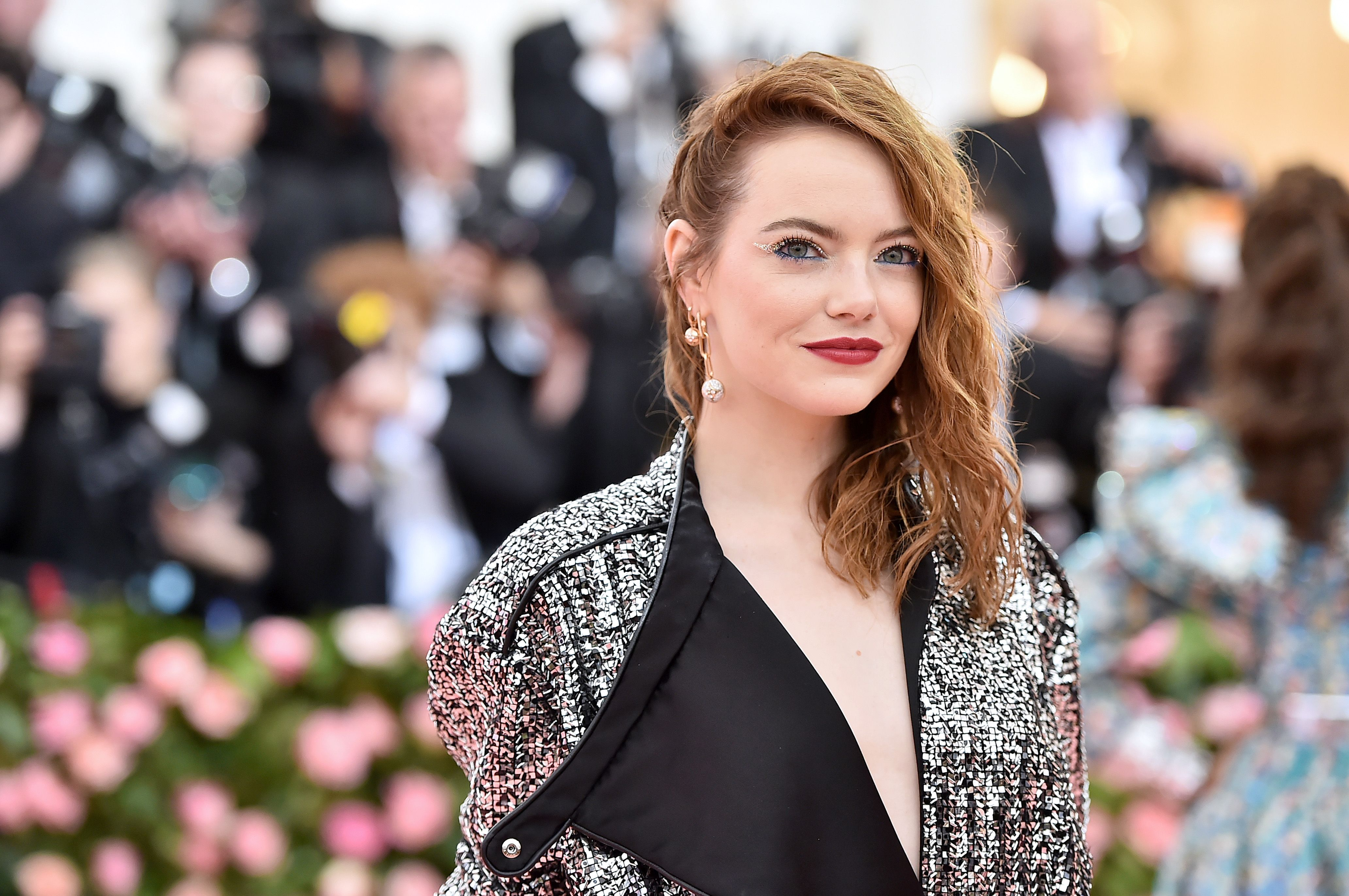Emma Stone met her idol Baby Spice during the Spice Girls tour