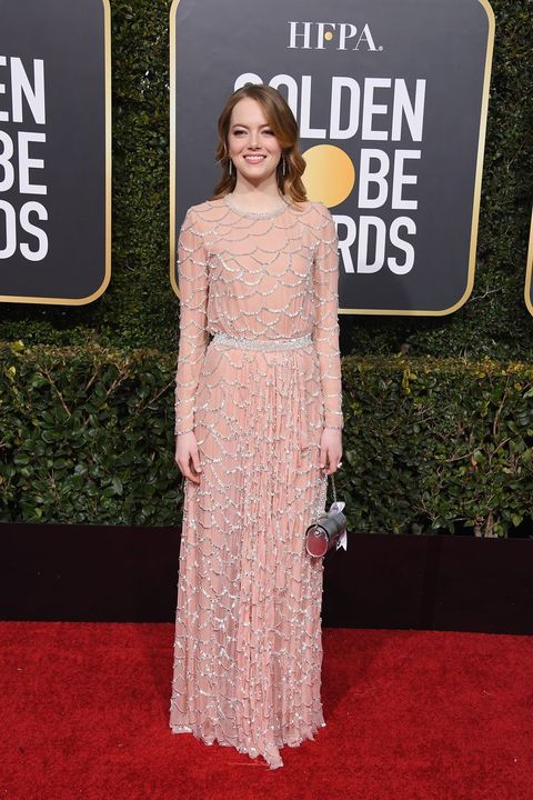 Emma Stone S Nude 2019 Golden Globes Dress Has The Internet Raving