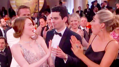 most awkward golden globes moments