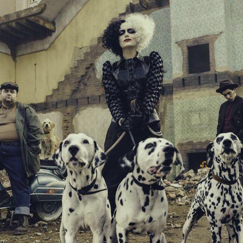 Emma Stone in Disney's Cruella