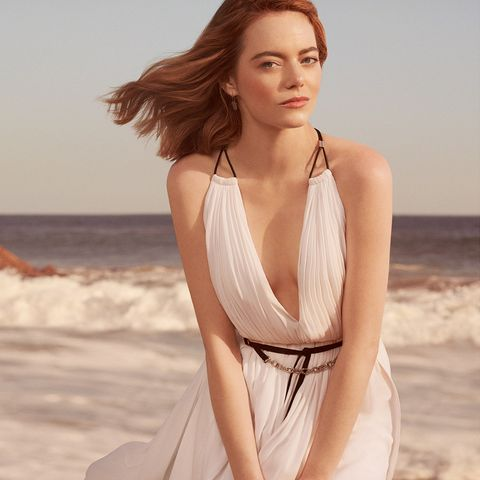 Emma Stone in Louis Vuitton's first fragrance film campaign