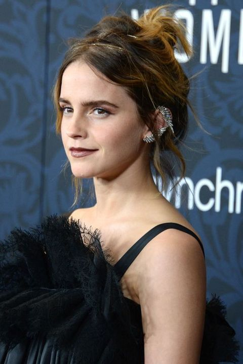 Emma Watson Went Full Goth For the 'Little Women' NYC Premiere