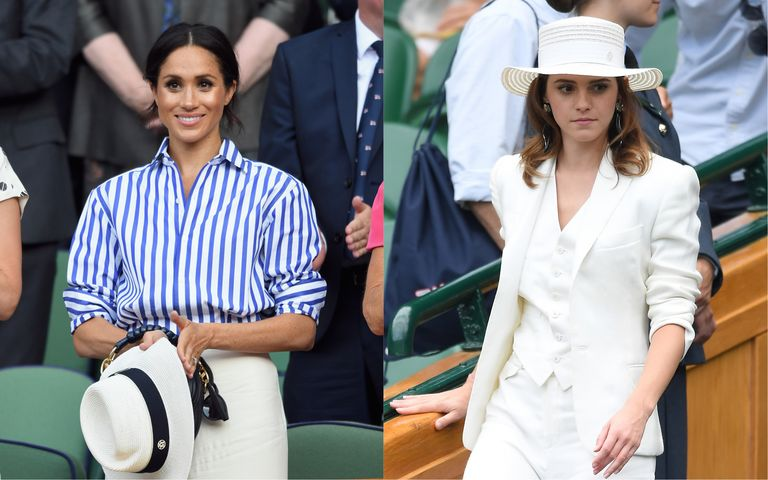 The Duchess Of Sussex And Emma Watson Wore Co Ordinating