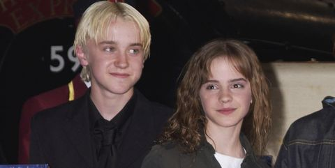 Tom Felton Posts Video Of Emma Watson On The Harry Potter Set