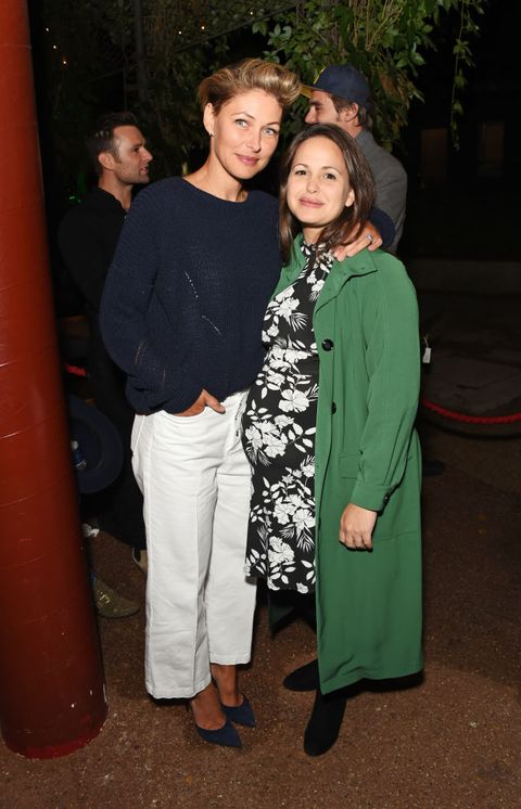 london, england   august 10  emma willis l and giovanna fletcher attend the press night after party for little shop of horrors at regents park open air theatre on august 10, 2018 in london, england  photo by david m benettdave benettgetty images