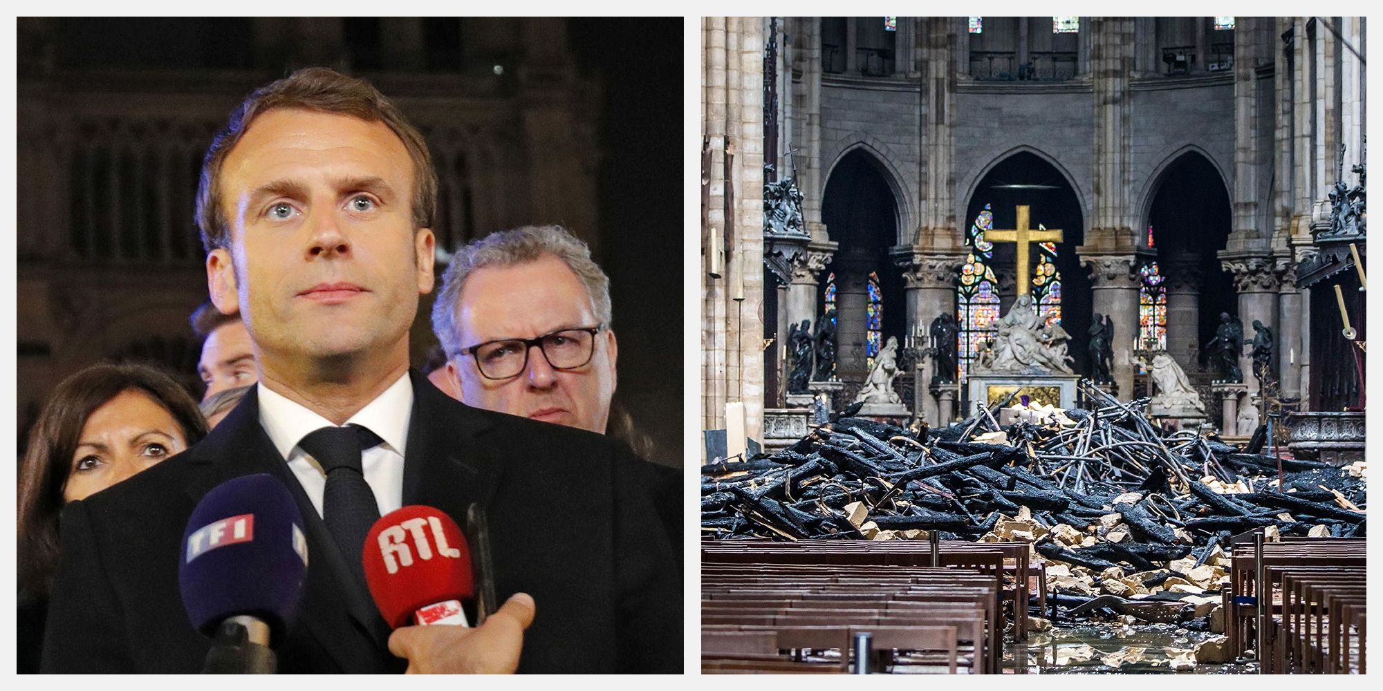 President Macron Wants to See Notre-Dame Cathedral Restored in Five Years