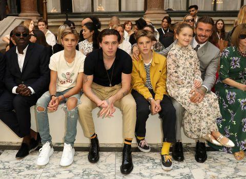 Victoria Beckham - Front Row - LFW September 2019