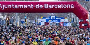 media maratón, barcelona