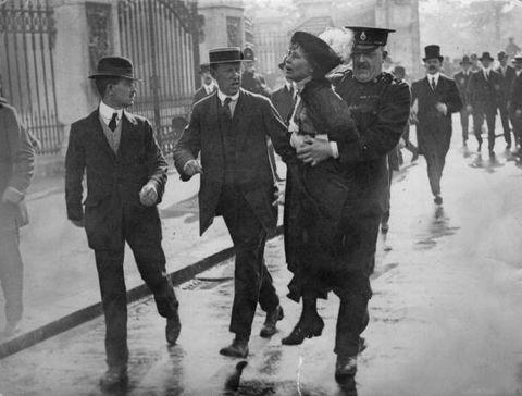 Emmeline Pankhurst suffragette