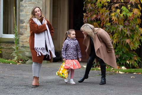 Andrea, Millie and Kim Tate in Emmerdale