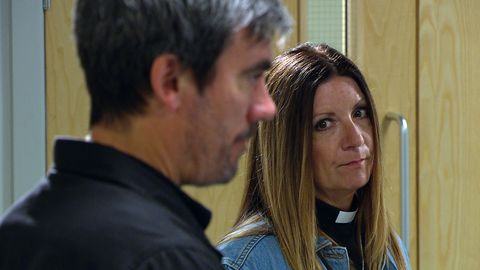 cain dingle and harriet finch in emmerdale