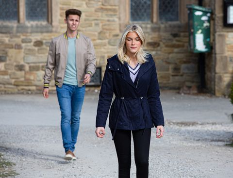 jacob gallagher and leanna cavanagh in emmerdale