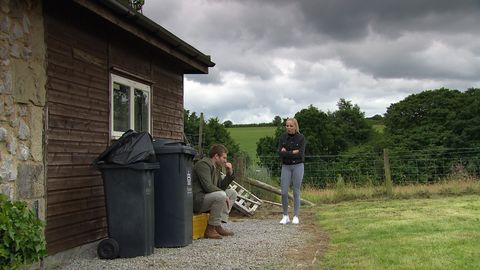 jamie tate and belle dingle in emmerdale