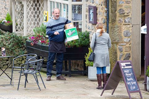 jimmy and nicola king in emmerdale