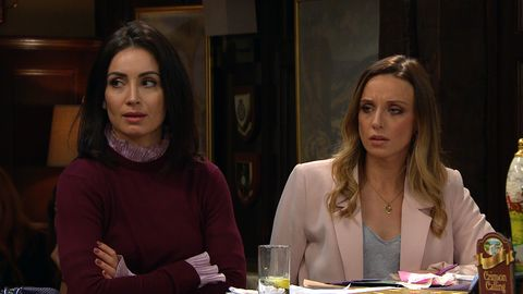 jamie tate and belle dingle's affair is exposed in emmerdale
