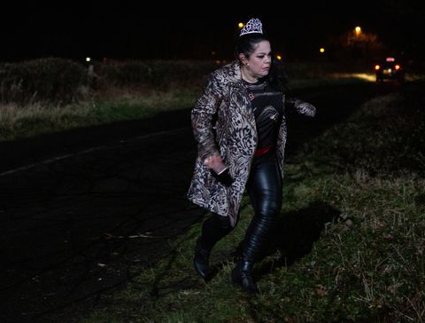 Mandy Dingle finds herself in trouble in Emmerdale