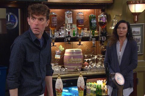 marlon dingle and chas dingle in emmerdale