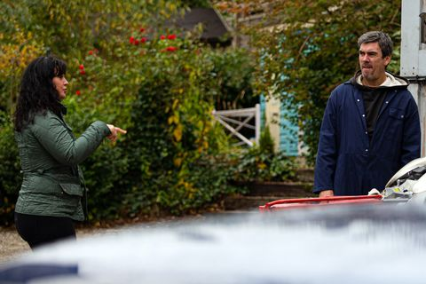 moira and cain dingle in emmerdale