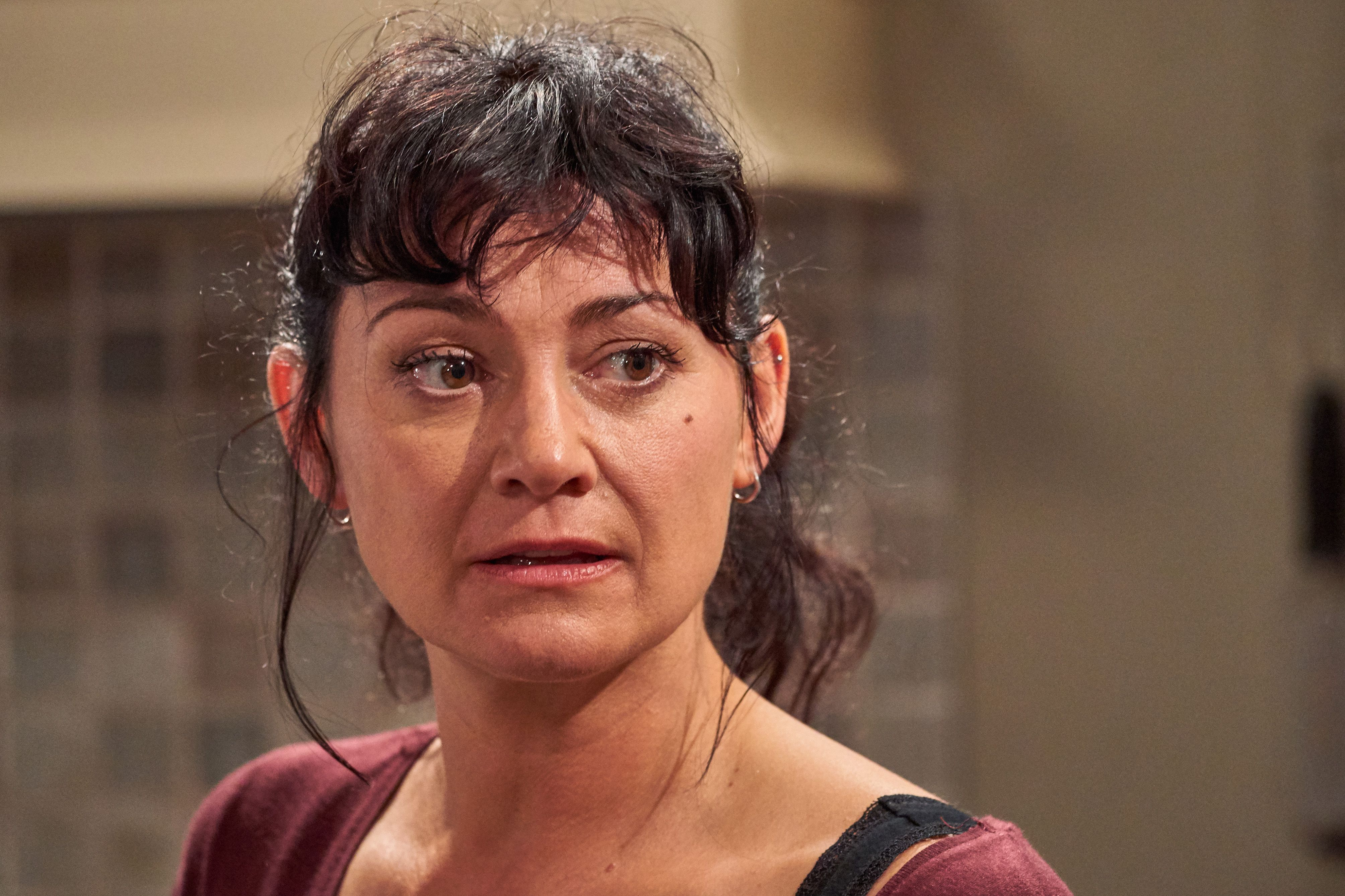 Emmerdale star Natalie J Robb promises answers over Moira's controversial affair with Nate