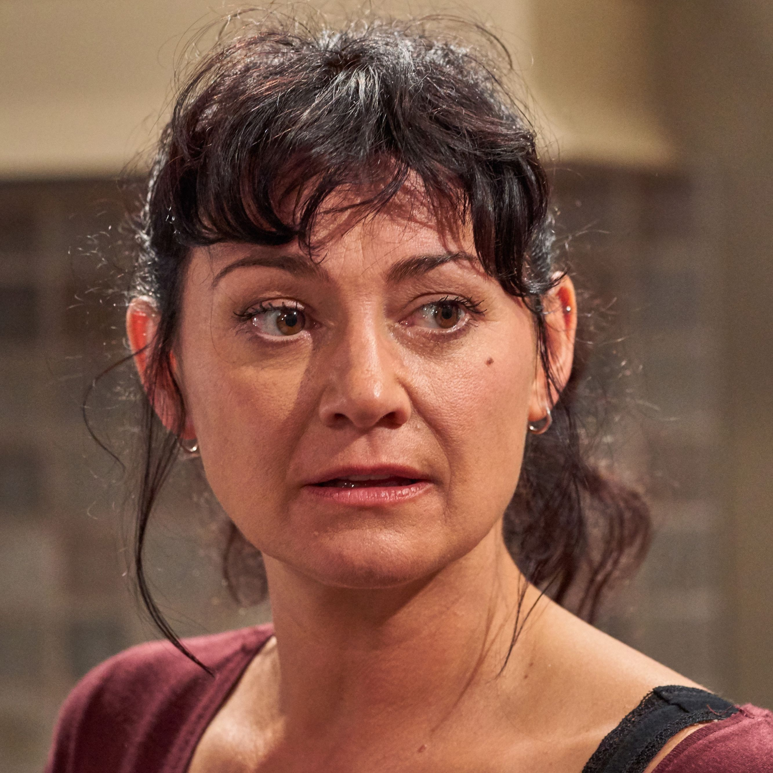 Emmerdale star Natalie J Robb on Moira's terror as she's finally caught out by Cain
