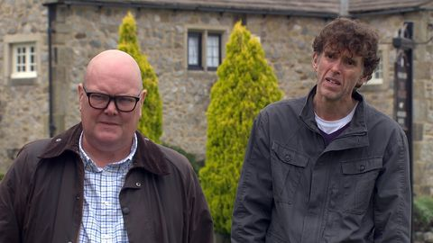 paddy kirk and marlon dingle in emmerdale