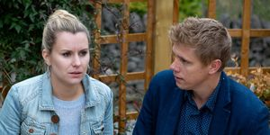 Dawn Taylor and Robert Sugden in Emmerdale