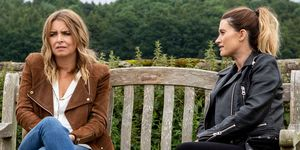 Charity and Debbie Dingle in Emmerdale