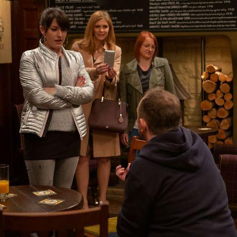 Dan Spencer proposes to Kerry Wyatt in Emmerdale