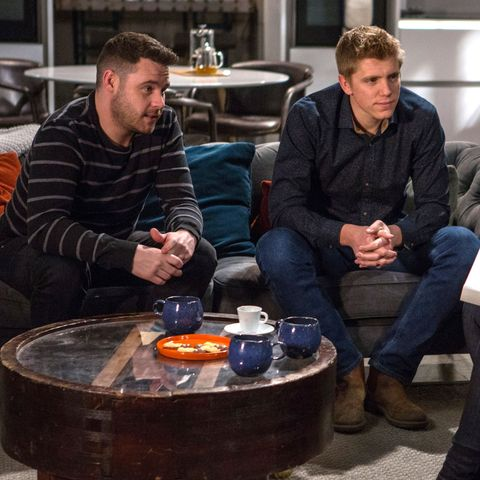 Emmerdale fans delighted as Robert Sugden and Aaron Dingle's surrogacy plan gathers pace